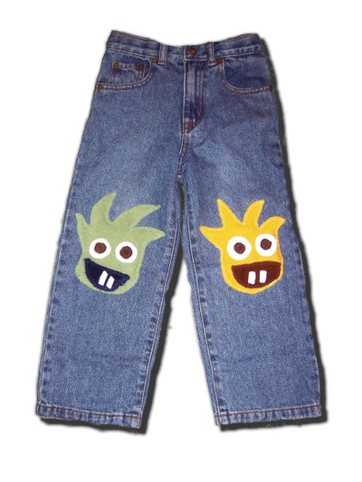 MONSTERLICIOUS Jeans by Joey & Aleethea
